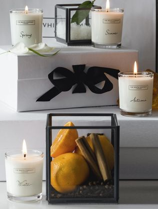 Candles and fragrance sale