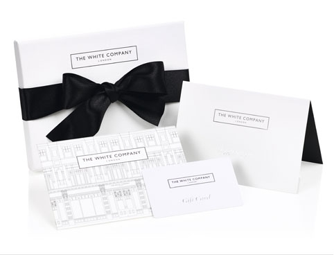 Giftcards the white company uk gift card negle Image collections