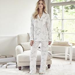 Antique Floral Pajama Set