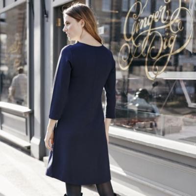 A-Line Jersey Dress