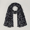 Allover Floral scarf