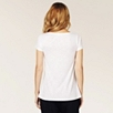 A-Line Short Sleeve Tee - White