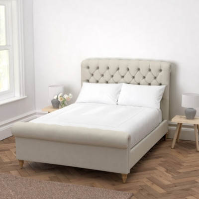Aldwych Cotton Scroll Bed  - 3 Colours