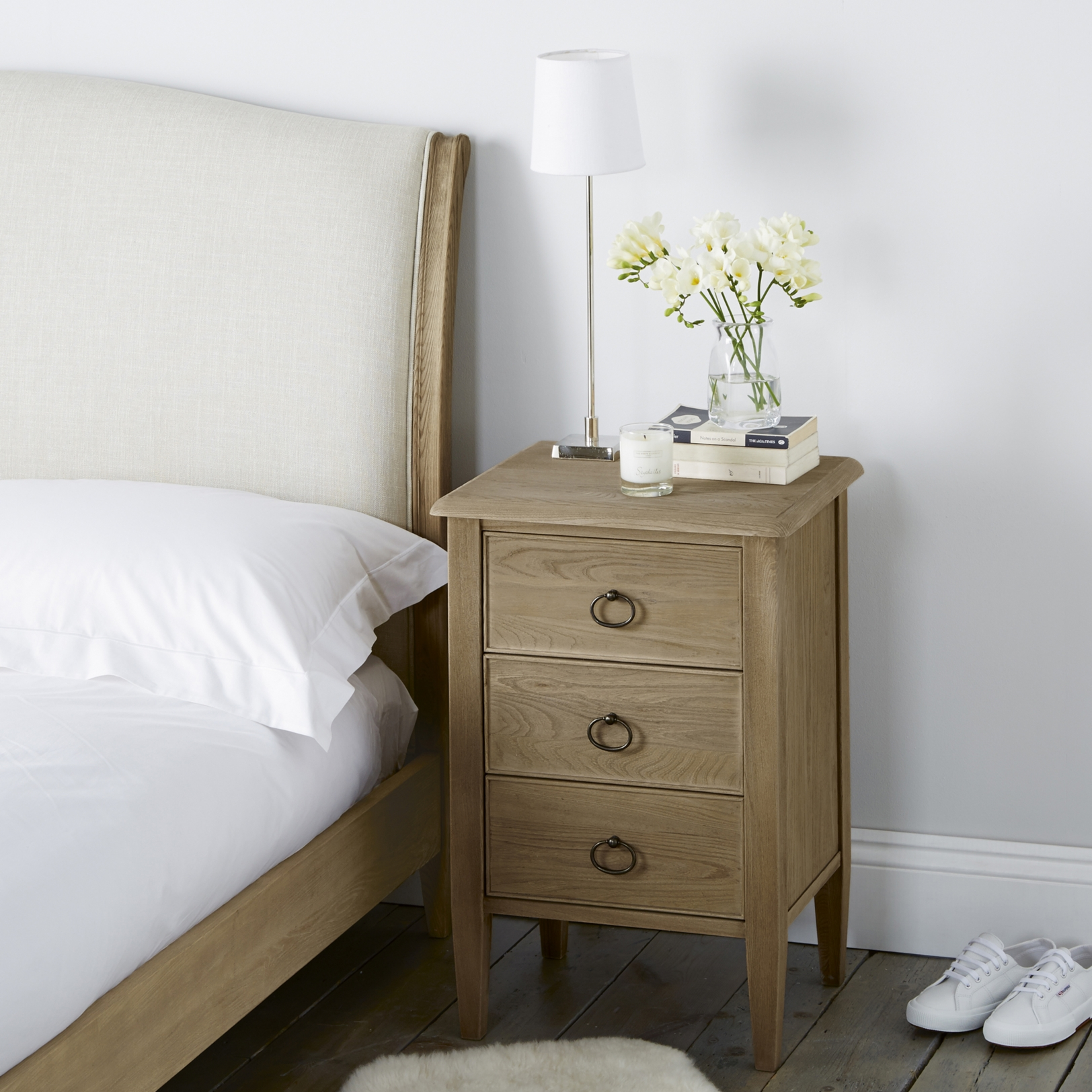 ardleigh narrow bedside table bedroom furniture furniture ardleigh narrow bedside table bedroom furniture furniture home the white company uk