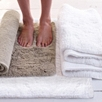 Large Antilly Bath Mat - White