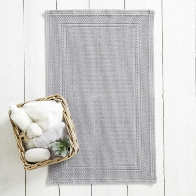 Antibes Bath Mat - Storm Gray