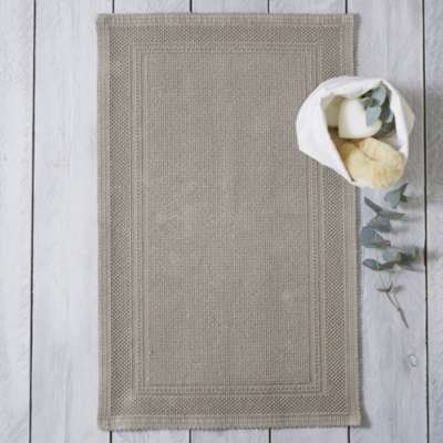 Antibes Bath Mat - Smoke