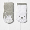 Animal Face Socks 2 Pack