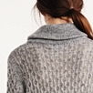 All-Over Stitch Roll Neck Sweater