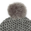 Alpaca Faux Fur Bobble Hat