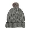 Alpaca Faux Fur Bobble Hat