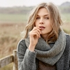 Alpaca Blend Oversized Snood