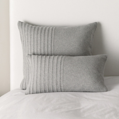 Ashford Cushion Covers - Silver Grey