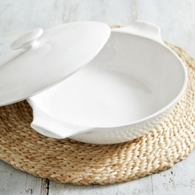 Artisan Serving Dish with Lid
