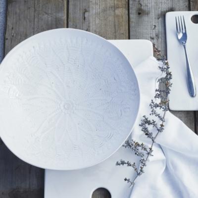 Lace Serving Dish Medium
