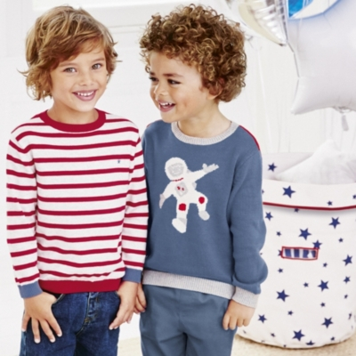 Astronaut Motif Sweater (1-5yrs)