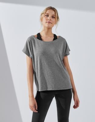 2in1 Active T-Shirt & Vest Top