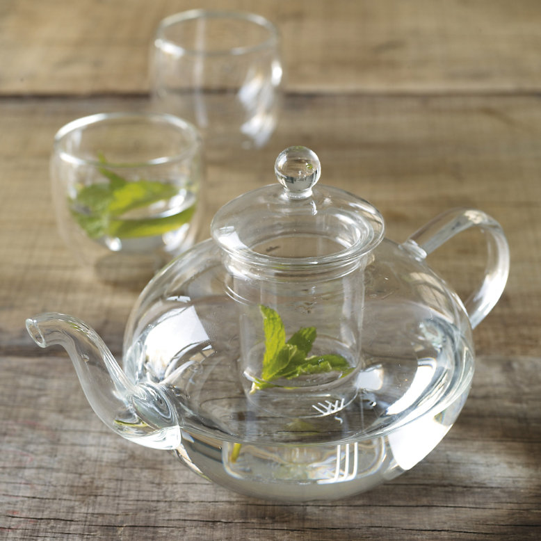 Glass Teapot from The White Company