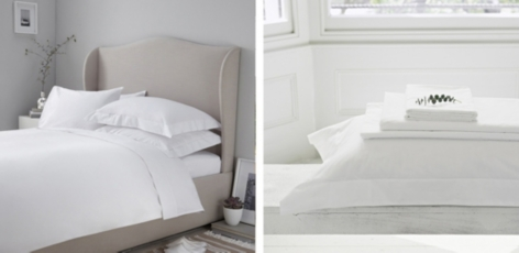 Buy 200 Thread Count Egyptian Cotton Bed Linen from The White Company