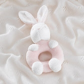 Buy Lulu Bunny Rattle from The White Company