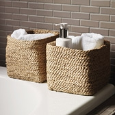 Buy Small Jute Storage Basket from The White Company