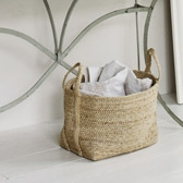 Buy Jute Storage Bag from The White Company