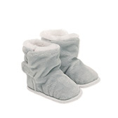 Buy Grey Baby Pixie Booties from The White Company