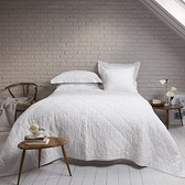 Buy Carvelle Quilt - White from The White Company