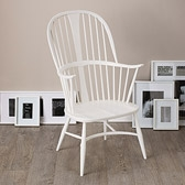 Buy Ercol Chairmakers Chair - White from The White Company