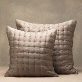 Buy Clarendon Cushion Covers - Latte from The White Company
