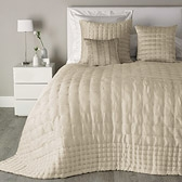Buy Clarendon Quilt - Natural from The White Company