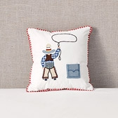 Tooth Cowboy Cushion