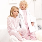 Dot & Stripe Jersey Pyjamas