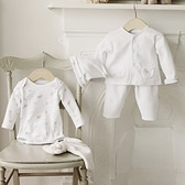 Buy Elephant Baby Gift Set from The White Company