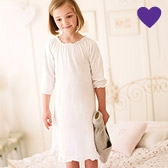 Emily Heart Jersey Nightdress