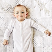 Buy Essentials Sleepsuit from The White Company