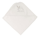 Buy Elephant Motif Hooded Towel from The White Company