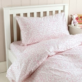 Buy Floral Heart Cot Bed Linen from The White Company