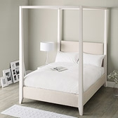 Buy Linden Four Poster Bed from The White Company