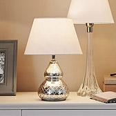 Buy Antique Cut Glass Table Lamp from The White Company