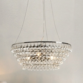 Buy Solid Glass Orb Ceiling Light from The White Company