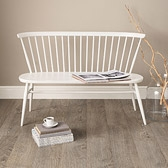 Buy Ercol Love Seat - White from The White Company