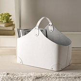Buy Leather Trug from The White Company