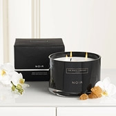Buy Noir Large 3-Wick Candle from The White Company