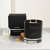 Buy Noir 2-Wick Candle from The White Company
