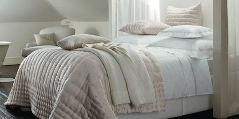 Buy Portland Bed Linen - Natural from The White Company