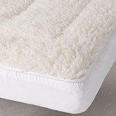 Buy Cot Bed Mattress Topper from The White Company
