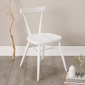 Buy Ercol Stacking Chair - White from The White Company
