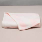 Buy Stripe Cashmere Blanket - Pink from The White Company