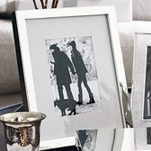 Buy Classic Silver Photo Frame 8x10 from The White Company